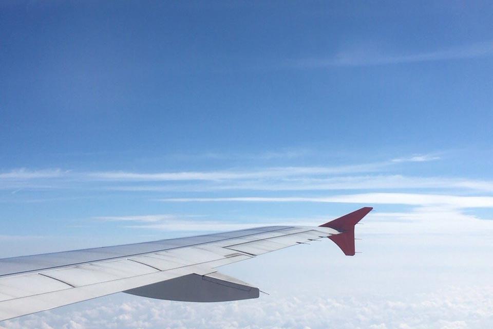 2019年10月  タイに向かう機内|AOZORAフォトギャラリー